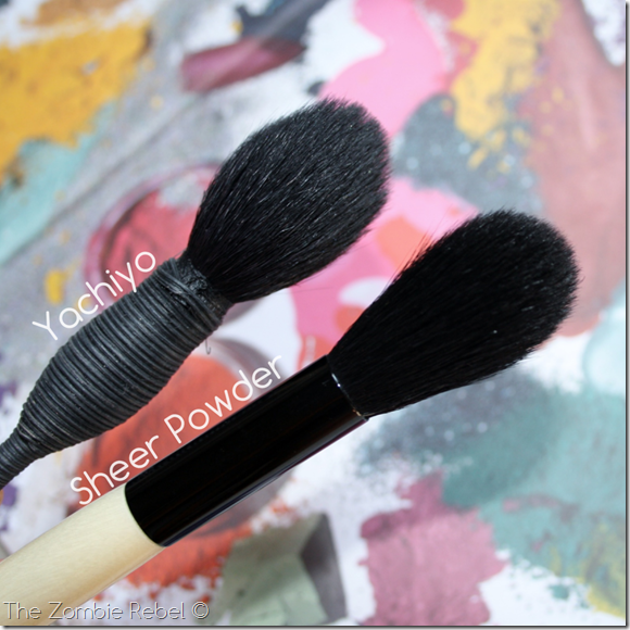 Bobbi Brown brushes (4)
