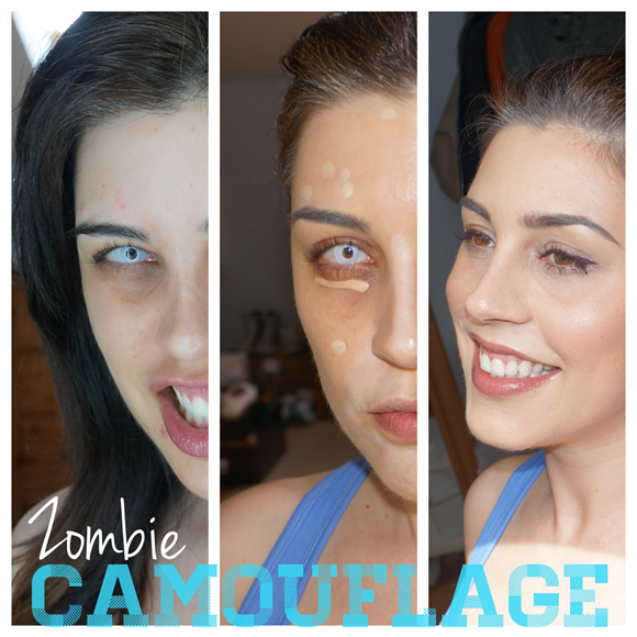 The Zombie Rebel - From Zombie to Human collage (1)
