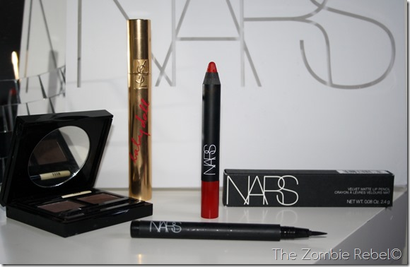 The Zombie Rebel - NARS Fall 2013 look Mysteripus Red (5)
