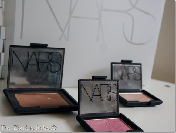 The Zombie Rebel - NARS Fall 2013 look bronzer brush illuminator (5)