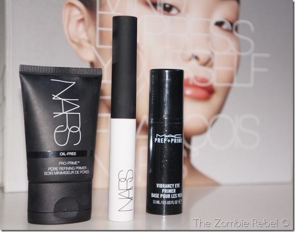 The Zombie Rebel - NARS Fall 2013 look primers (2)