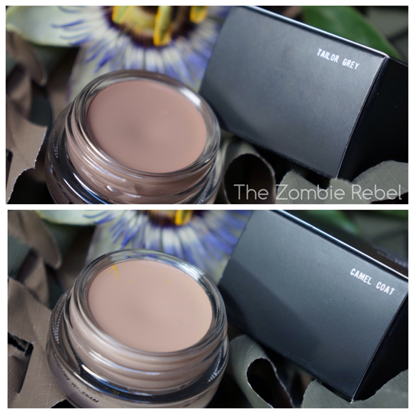 MAC Pro Longwear Paint Pots- Taylor Grey - Camel Coat