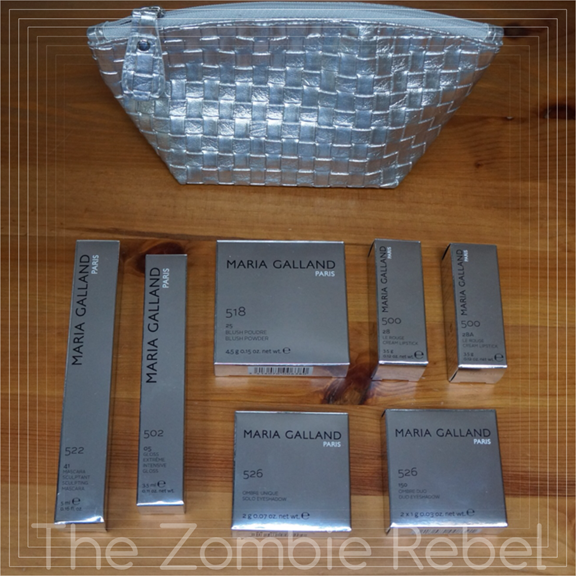 The Zombie Rebel - Sorteo Maria Galland Kit MakeUp (1)