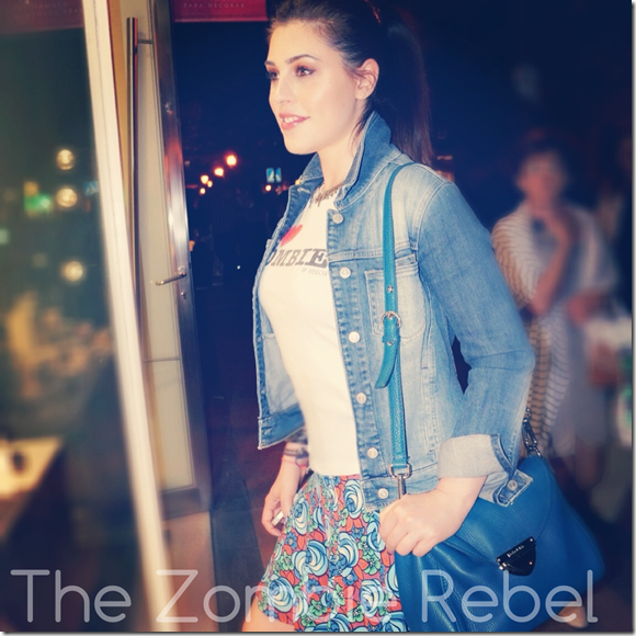 The Zombie Rebel - Vogue Fashion Night Out 2013 (4)