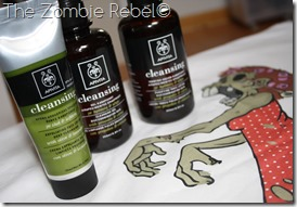 The Zombie Rebel- Apivita Cleansing (1)