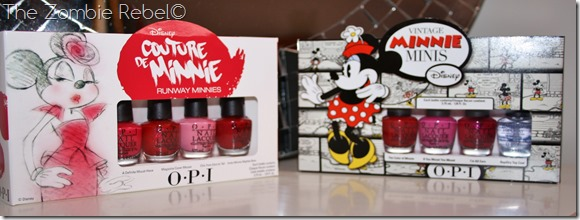 The Zombie Rebel - OPI Minnie Collection