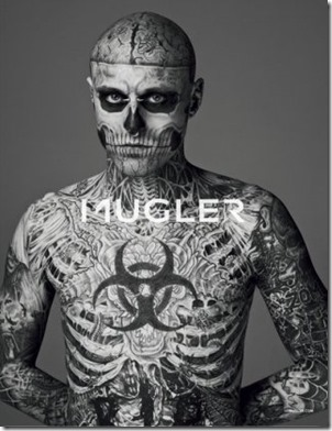 Zombie Boy look - The Zombie Rebel Halloween Skull (2)