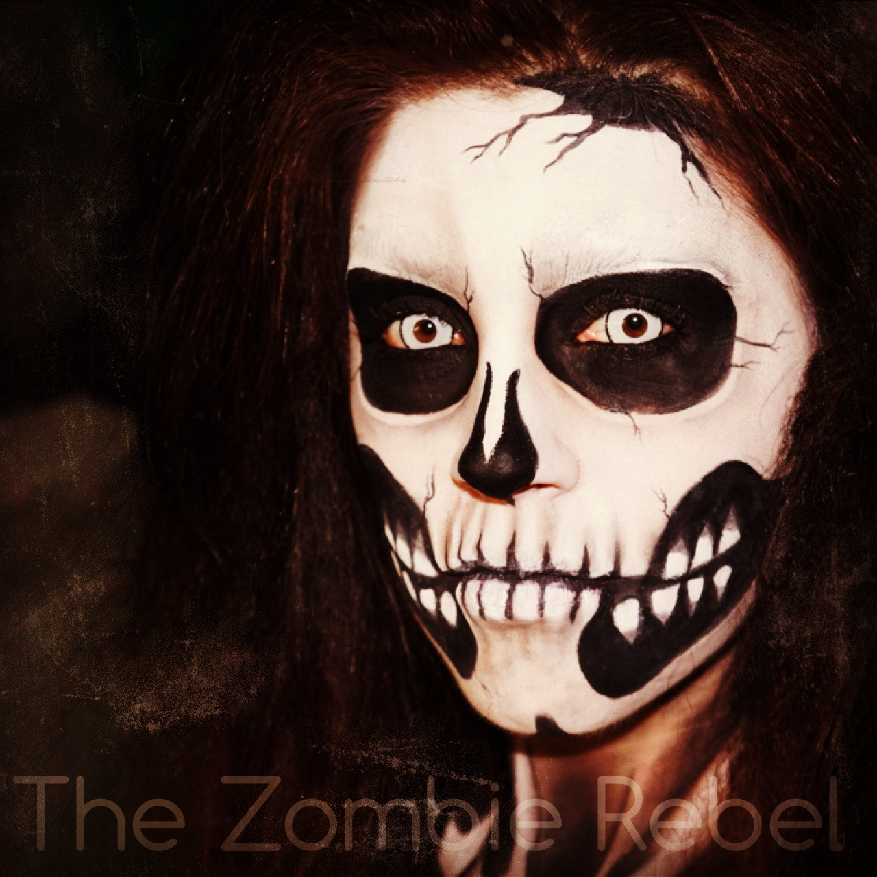 Zombie boy look - The Zombie Rebel Halloween Skull (5)