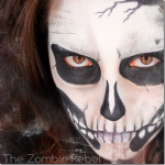 Zombie Boy inspired look: The Zombie Rebel Halloween Skull