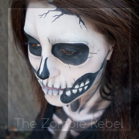 Zombie boy look - The Zombie Rebel Halloween Skull (6)
