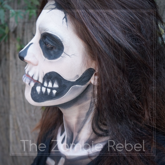 Zombie boy look - The Zombie Rebel Halloween Skull (7)