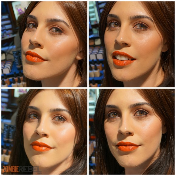 NARS Uzo Makeup Session - The Zombie Rebel_look