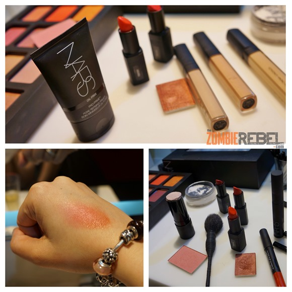 NARS Uzo Makeup Session - The Zombie Rebel_products