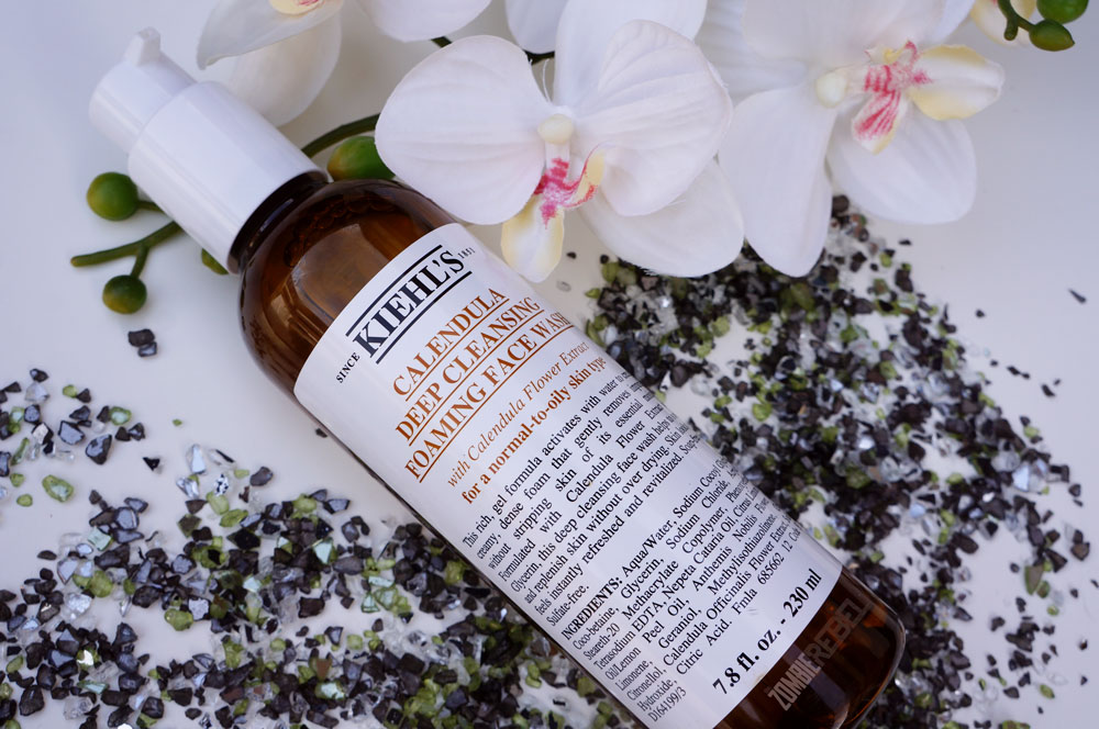 Kiehls-calendula-deep-cleansing-foaming-face-wash-TheZombieRebel