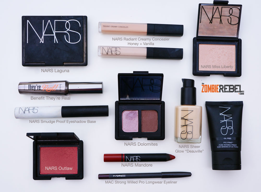 NARS-Fall-2014-Look-Productos-utilizados-TheZombieRebel-